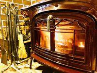 ☆【薪ストーブを体験してみよう】 ゆらめく炎で身も心も暖まろう♪