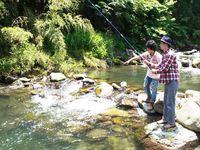 ☆【手軽に渓流釣り体験プラン】BBQの材料をもう1品追加しよう!道具などもすべてこちらでご用意します