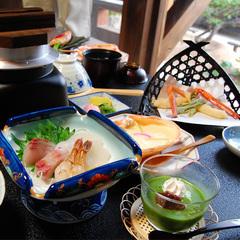【豪華】アワビ釜飯と高級魚のどぐろ塩焼き付き!旬香会席「現金特価」