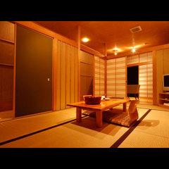 2階和室 【バス無しトイレ付】1階別棟の貸切風呂ご利用OK!