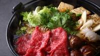 【すき焼きorしゃぶしゃぶ】ご当地「大和牛」を堪能★料理長厳選食材に舌鼓