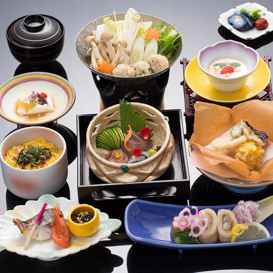 【シンプルが嬉しい!】島根の地魚と旬の海山幸を☆千畳コース