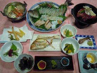 活魚付き お魚の会席 ツインルームプラン