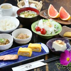 ◆一泊朝食付き◆採れたて元気野菜で一日の活力を!【長陽大橋開通】