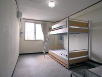 【禁煙】2段ベッド+マット最大4枚(計6名さままで宿泊可能)