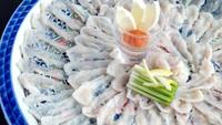 【56】【エグゼクティブルーム限定】グレードアップ!ふぐ刺し菊盛りフルコースプラン