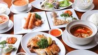 【街と、もてなす。】Sukhontha(情熱のタイ料理)編◆タイ料理夕食+軽朝食付き◆