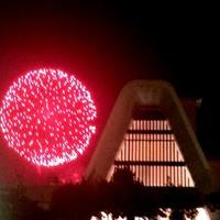 万葉荘屋上から鑑賞可能♪【夏の花火】夜空を彩る湯河原海上花火大会【7月16日と8月3日限定♪】