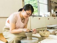 【陶芸体験】◆◆万葉荘に到着→施設内の万緑窯で「電動ろくろ」体験◆◆万葉荘満喫パック