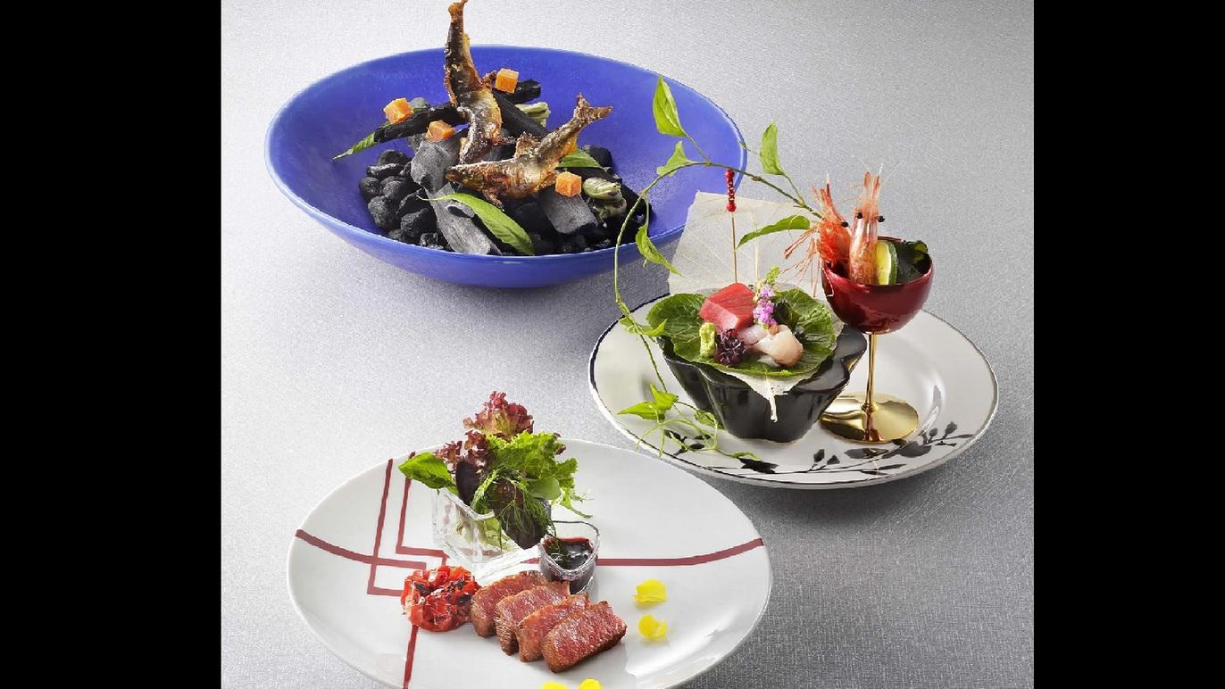 【6/15〜9/7 夏の味覚フェア】飛騨牛ステーキ×天然鮎×日本海の旬を味わう創作料理《2食付き》
