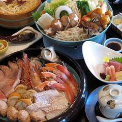"""【1泊2食】【冬限定】チェックアウト12時""""豚鍋 or  魚介鍋""""選べる鍋プラン"""