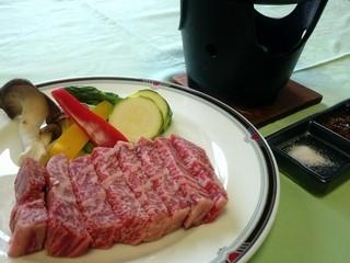 1泊2食◆地場食材たっぷり会席+「信州牛ステーキ120g」=当館自慢【長野のグレードアップ山ごはん】