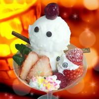 ★インスタ映え★ 期間限定「可愛い♪雪だるまパフェ」&ラドン岩盤浴無料◆【 あねっこの華膳プラン 】