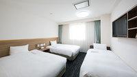 【喫煙】トリプルルーム/21〜23平米/ベッド幅120cm