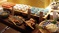 【朝食バイキング付】◆銀座・東京駅徒歩圏内◆ 九州名物が味わえる和食バイキング!全室VOD無料