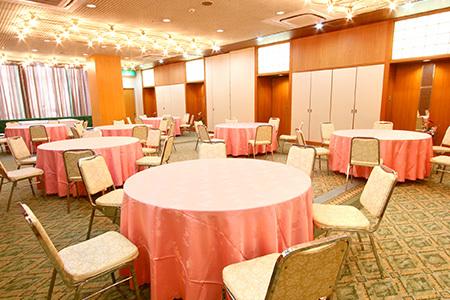 写真:宴会場、会議室