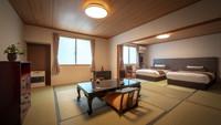 【禁煙】ツインベッド付■広めの和室16畳
