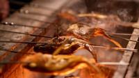 「活鮑陶板焼」「幻の魚イトウ」「選べる鮮魚の炭火焼」さらに国産黒毛和牛も!■贅沢三昧「松御膳」プラン