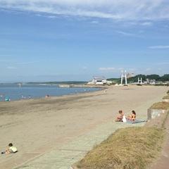 待ってました夏!!ビーチまで徒歩7分♪■C/OUT後の駐車&入浴OK!至れり尽くせりの海水浴プラン