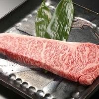 【米沢牛サーロインステーキ】柔らかな食感と上質な肉質の旨み/米沢牛の高級部位を堪能