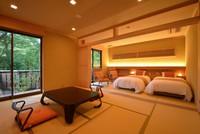 露天風呂付特別室「桜の間」
