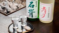 個室de炭火焼<冬だけ>福島牛陶板焼+天栄の地酒2種飲み比べプラン