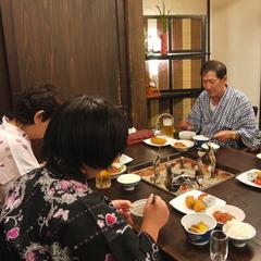【福島県民限定】<生ビール特典付!>個室食×貸切り風呂×炭火焼きプラン