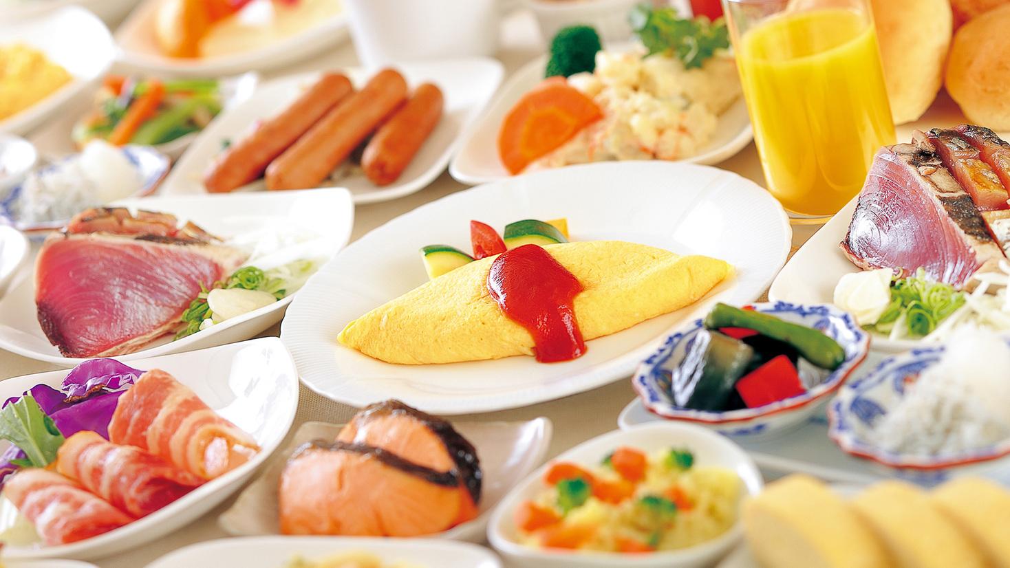 ◆シンプルステイプラン 本格バイキング朝食付き ※6:00〜オープン