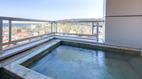 ☆【露天風呂付客室】相模湾も初島も一望、お部屋のお風呂はすべて温泉