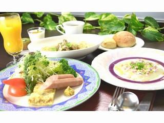 【笑顔の1泊朝食付】★お目覚めは温かいスープスパゲティーdeご朝食♪【幸せを感じる朝ごはんをどうぞ】