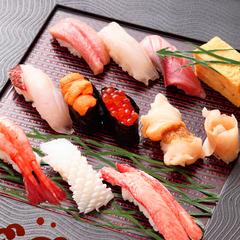 日本海【特上寿司】ウニ・トロ・いくらを堪能♪2食付