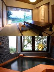 離れ和室タイプ【レトロ風な温泉の内湯付き】