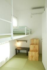 旅人応援プラン(吊り床和室2人部屋)