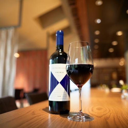 【ペアリングワイン付】道産から歴史ある世界のワインまで厳選/ワインと美食のマリアージュ