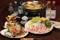 【平日限定】広島もみじ豚の塩レモン鍋!!もみじ橋プラン