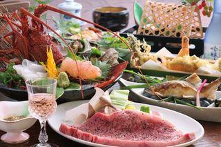 【みんなでカンパイ!広島県】 山の幸と海の幸の特別料理!!雄橋プラン
