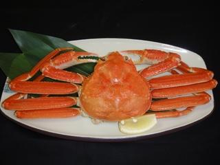 お腹いっぱい♪よくばり蟹会席プラン