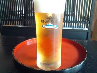 【静岡限定静岡麦酒ドリンクサービス★】静岡のお得プラン