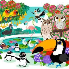 花と鳥のテーマパーク『掛川花鳥園』の入場券ト付き♪≪無料!軽朝食&ワンドリンク☆生ビールあり!≫