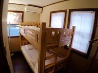 ツインルーム 2段ベッド