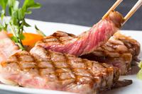 【特選ロースステーキ】肉のうま味があふれる『但馬玄』のロースステーキコース!但馬牛にとろける♪