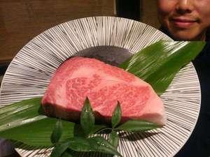【裏メニュー】肉汁たっぷり1ポンドの但馬玄ロースを炭火であぶって塩と本わさびで食べ尽くす!P