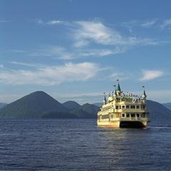 ★とうや湖割★洞爺湖中島巡り遊覧船プラン(夕食・朝食/お部屋食)