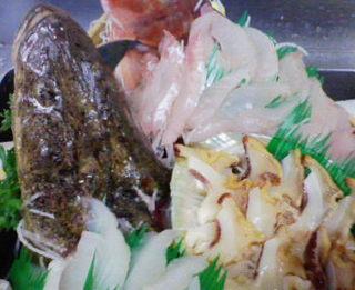 地魚3種・伊勢海老舟盛☆今朝獲れ魚!牛陶板焼き