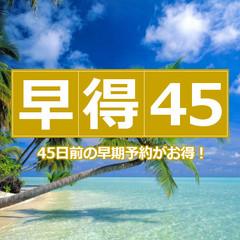 【シングル】◆さき楽 45日前◆チャンス!残りわずかの特別プラン