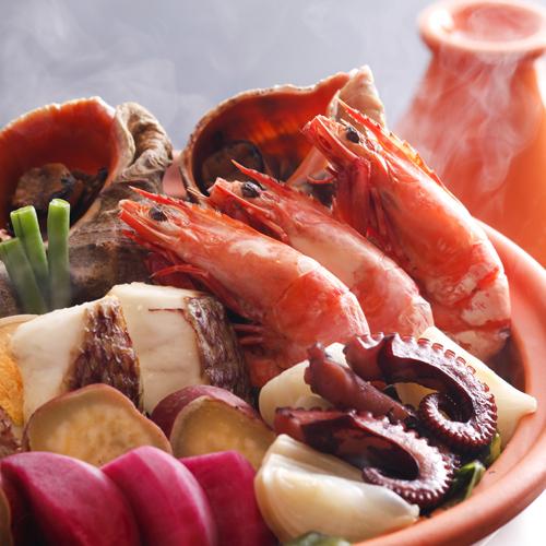 淡路島西浦の地魚や淡路牛の和風ステーキを味わう季節の味覚懐石・淡路野菜とともに