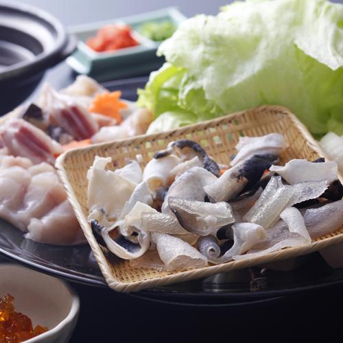 【島の冬の味覚】淡路島3年とらふぐのコラーゲンたっぷり美福鍋と淡路牛 〜Yunagame〜