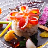 【島の新たな美食】淡路島サクラマスのしゃぶしゃぶ鍋・春の創作ちらし寿司と淡路牛 〜Yugasumi〜