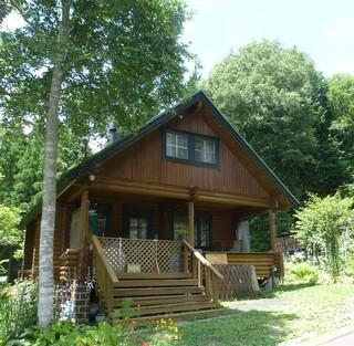 JUNログ2 貸切別荘まるごと1棟 本格的ログハウス現地清算
