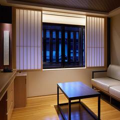 【室数限定 朝ごはん付】 デラックスタイプへアップグレード〜小上がり付の客室でゆとりのひとときを〜